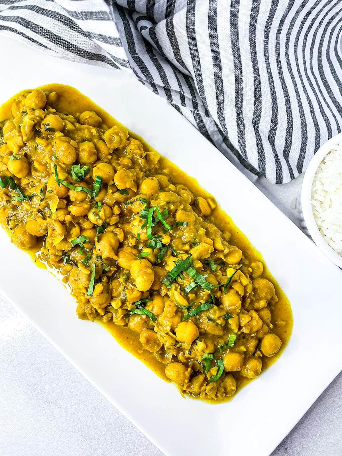 Curry Chana