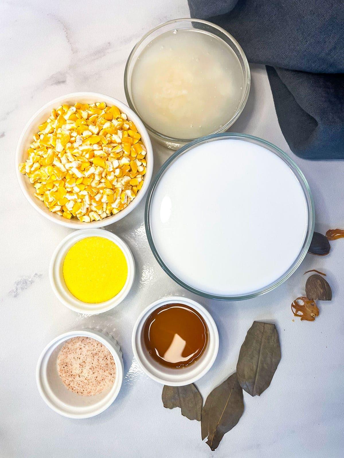 hominy porridge ingredients