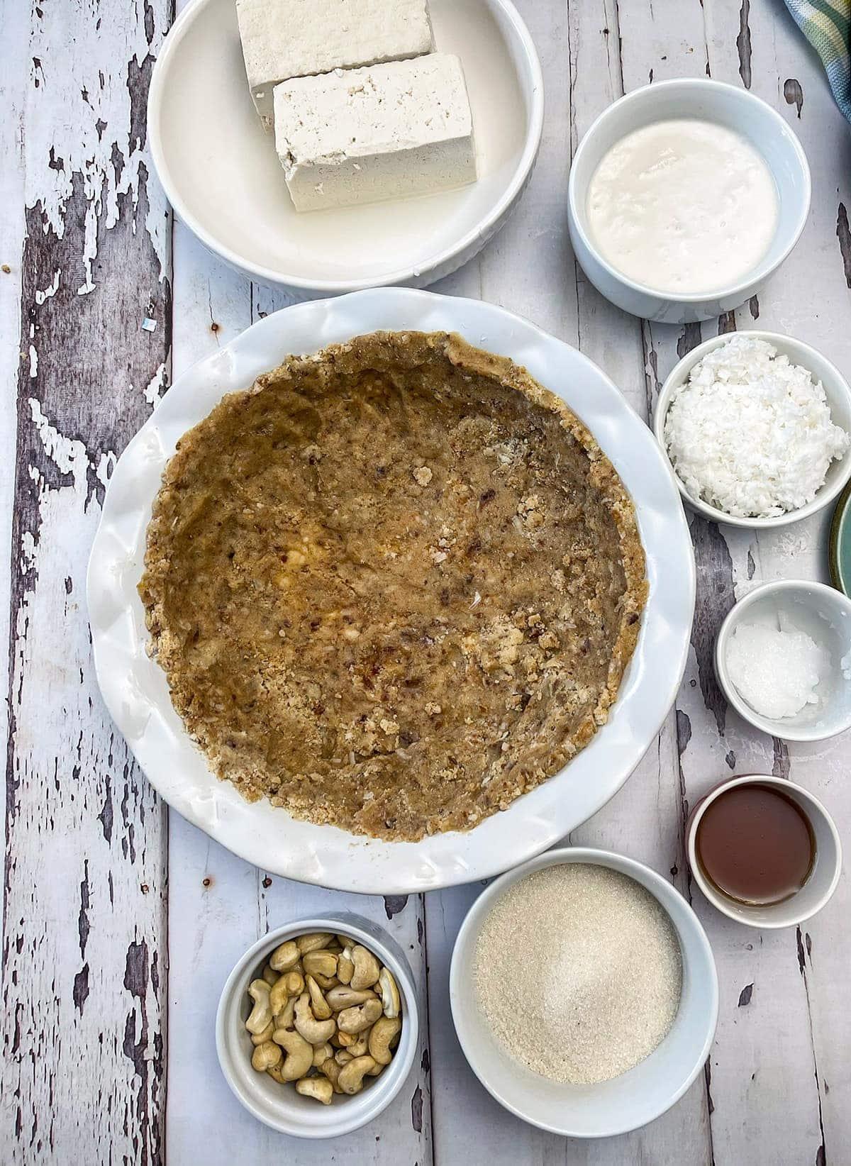 coconut cream pie ingredients