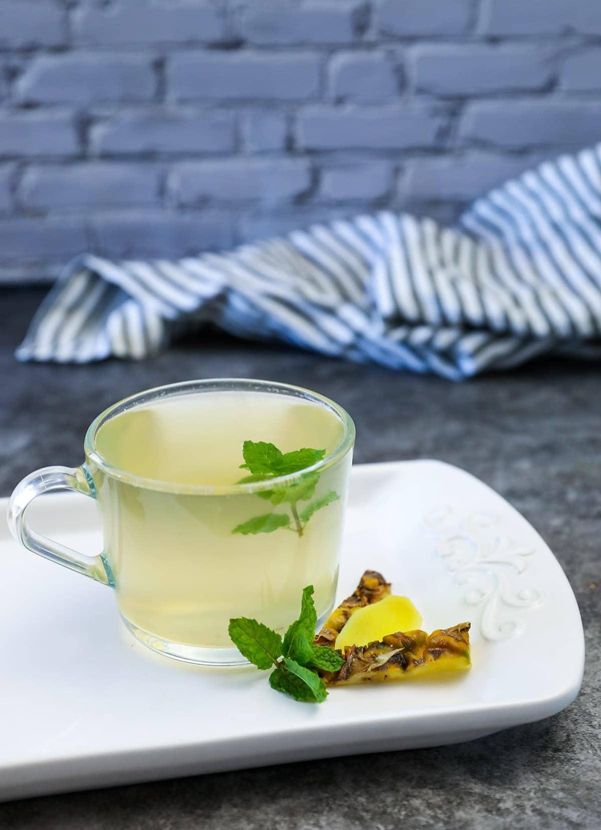 Pineapple Peel Tea