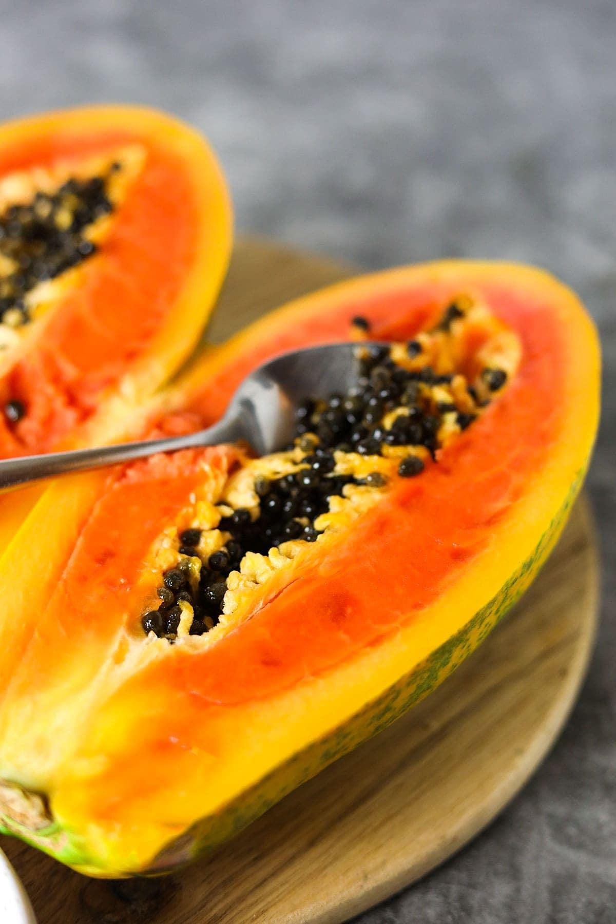 papaya for papaya salad