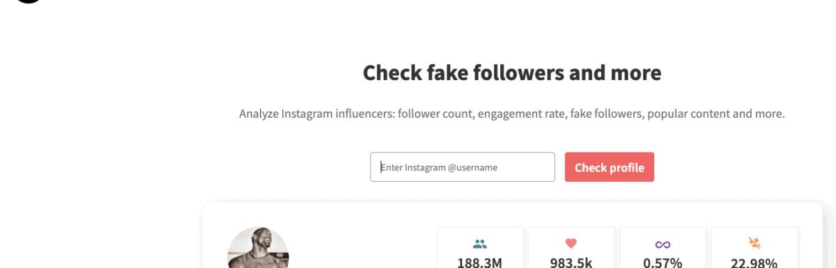 How to identify fake follower on Instagram
