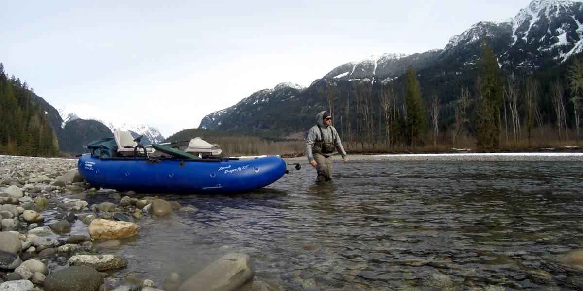 Fishing Squamish River