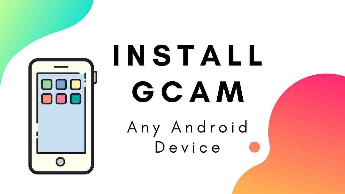Install Google camera MOD