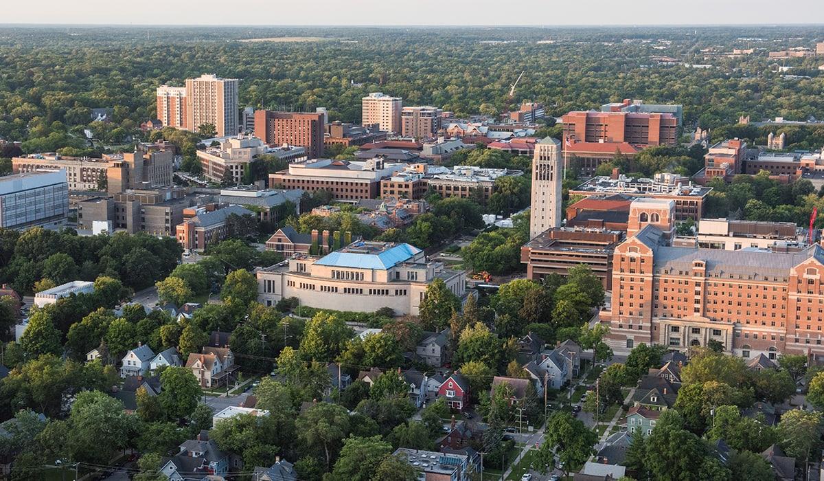 Photo of the Ann Arbor Campus