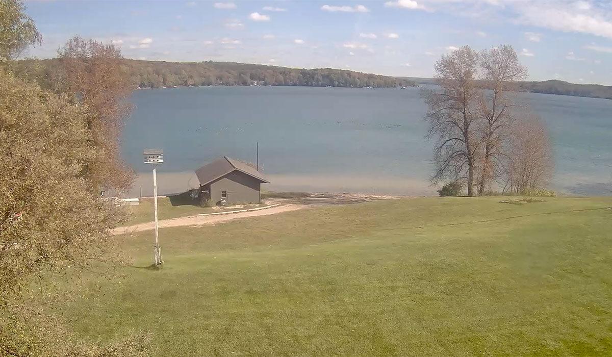 Camp Michigania Webcam Fall