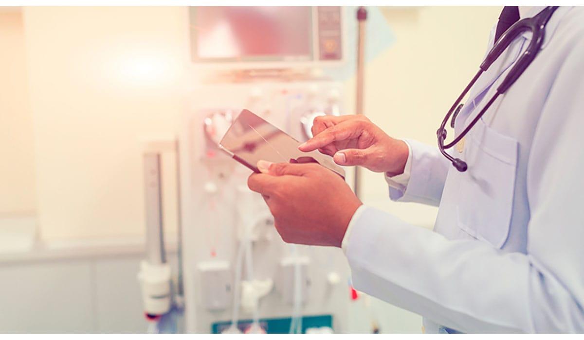 Doctor Tablet Hospital Room Stethoscope Gatewayextension