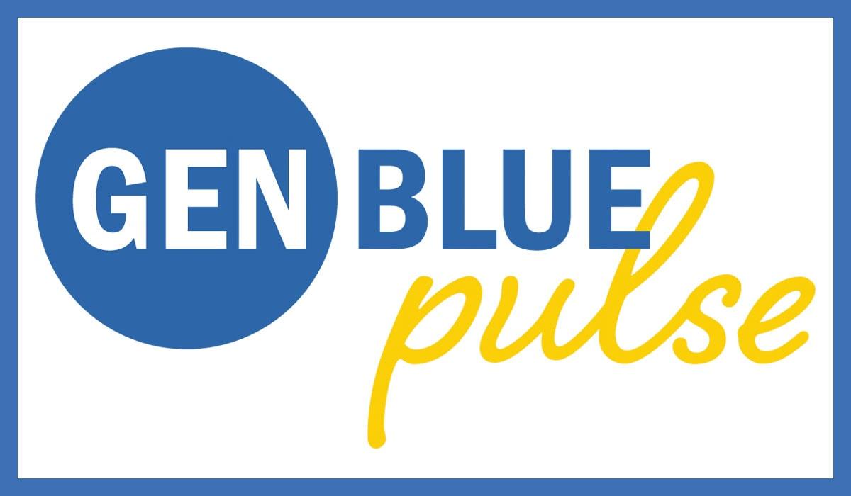 Gen Blue Pulse Background