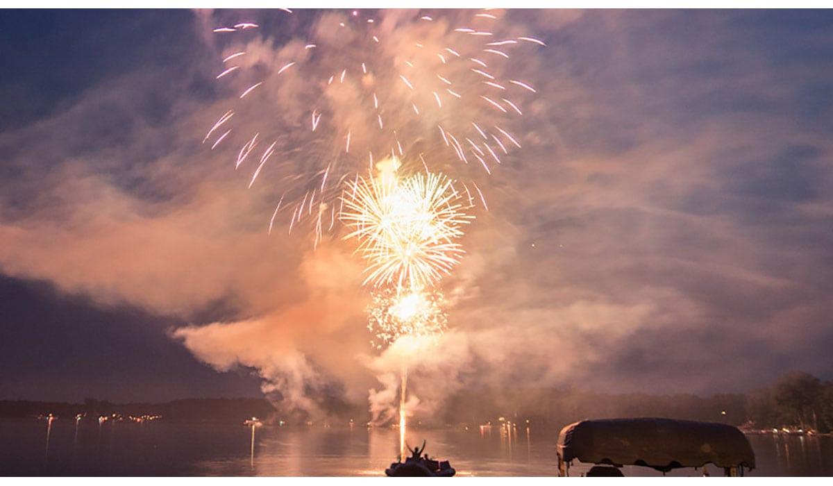 Fireworks Over Lake Gatewayextension