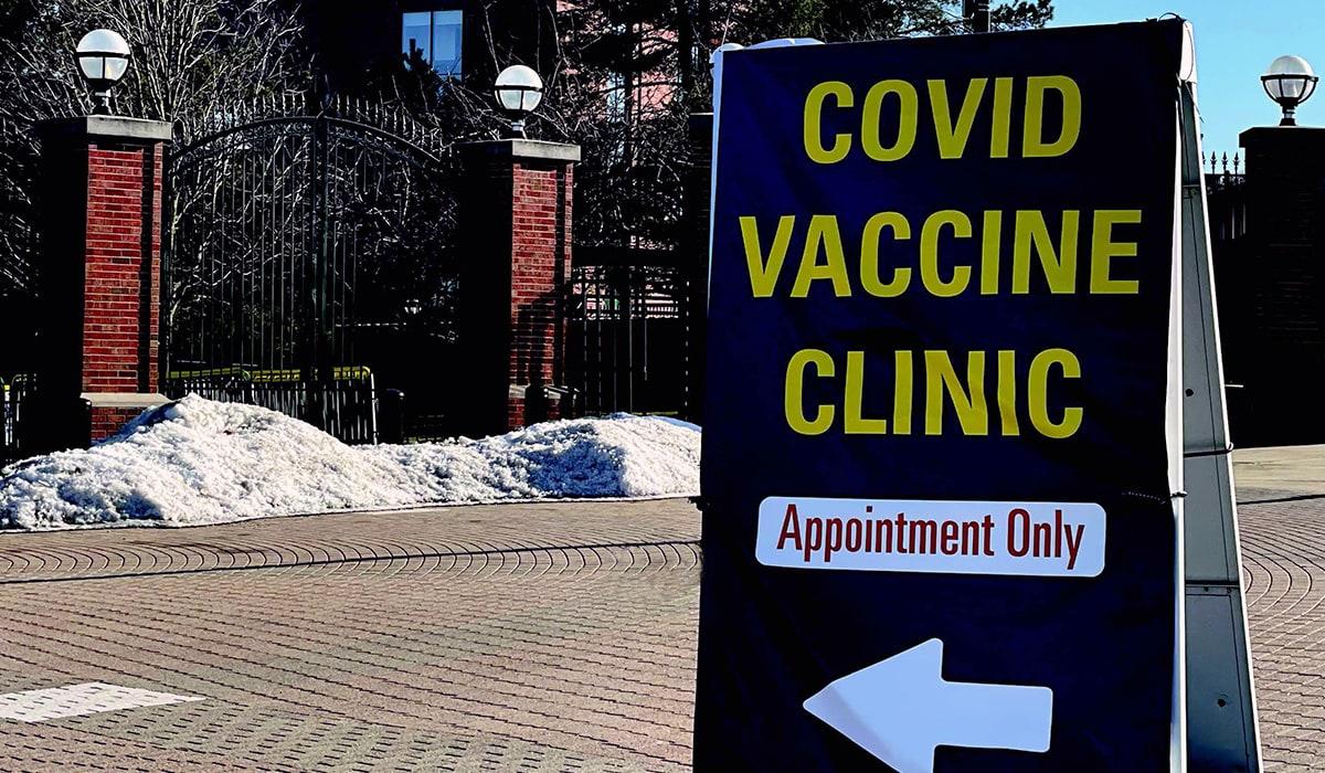 COVID Vaccine Clinic at Michigan Stadium