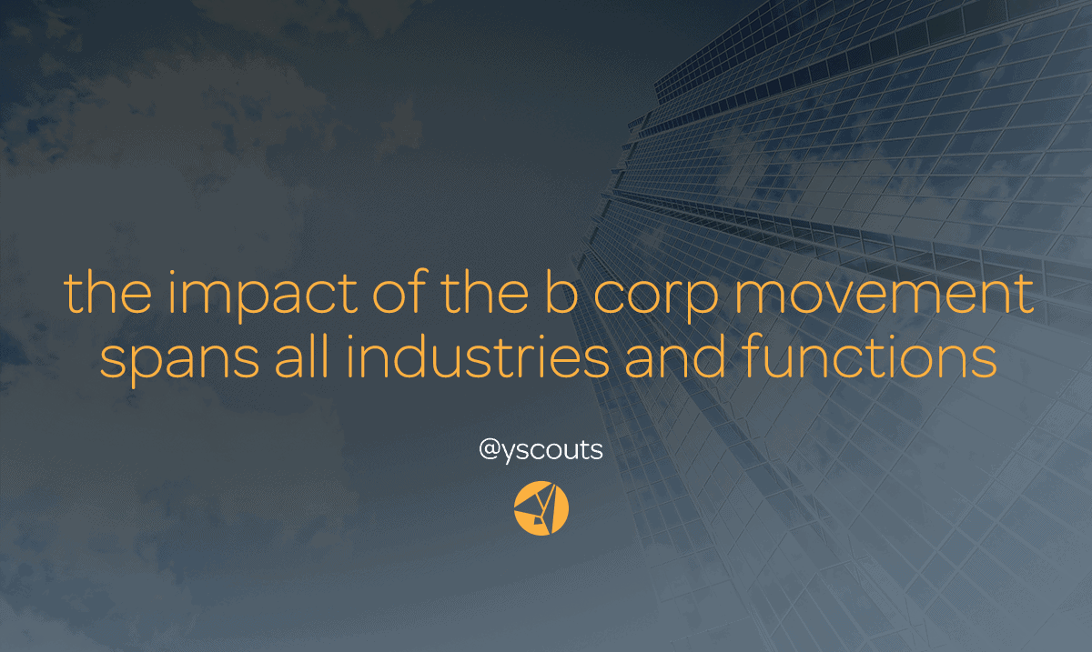 the impact of the b corp movement