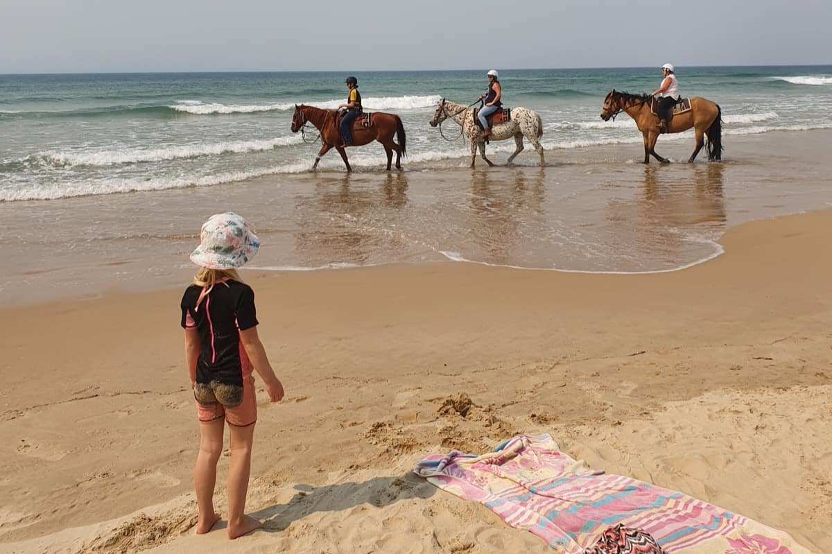 Stockton Bight Sand Dunes Horse Riding