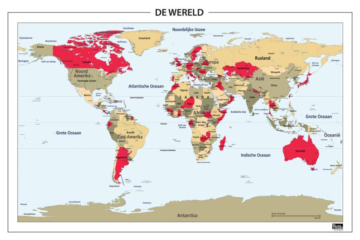 Wereldkaarten!