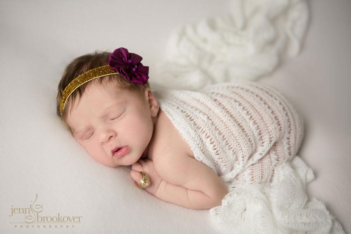 newborn photography at home in San Antonio, Texas, Texas A & M