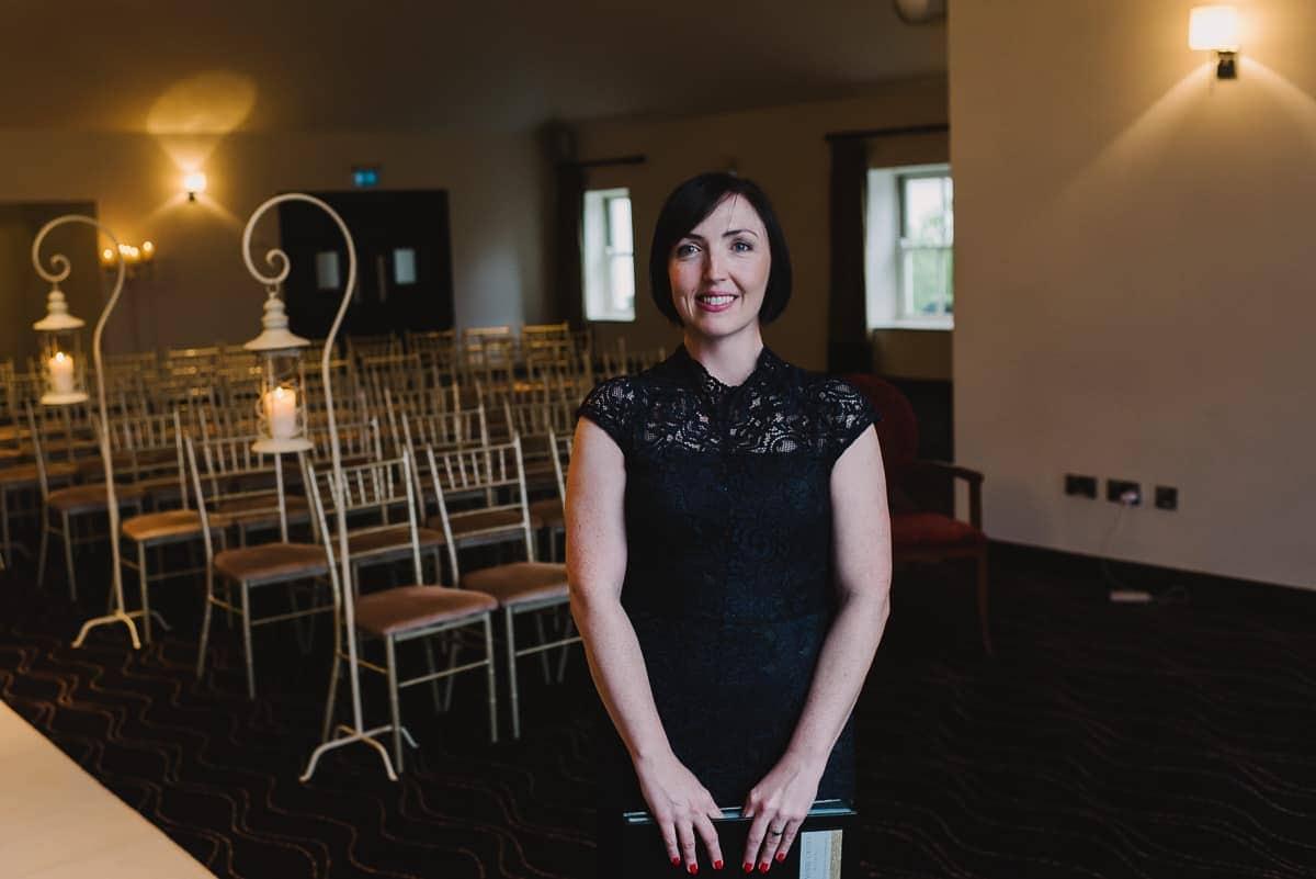 unique wedding florist and celebrant Dublin
