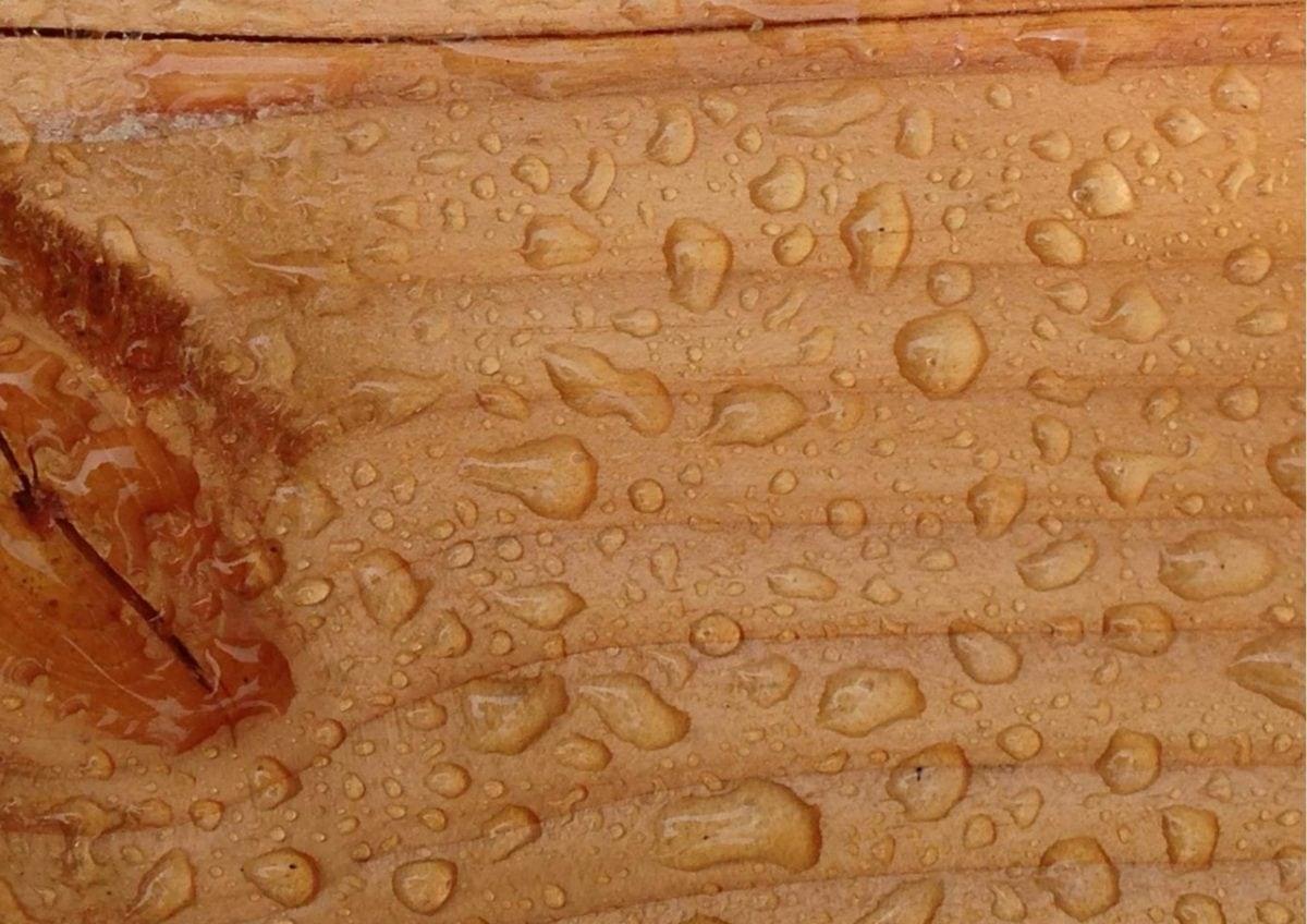 hout waterdicht maken met woodcon