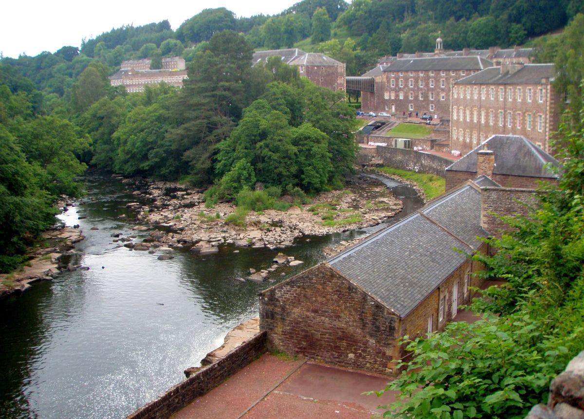 New Lanark (2009) Wikimedia