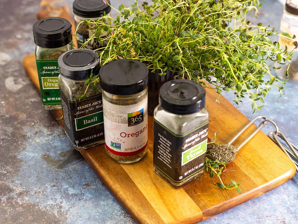 Substitutes for thyme