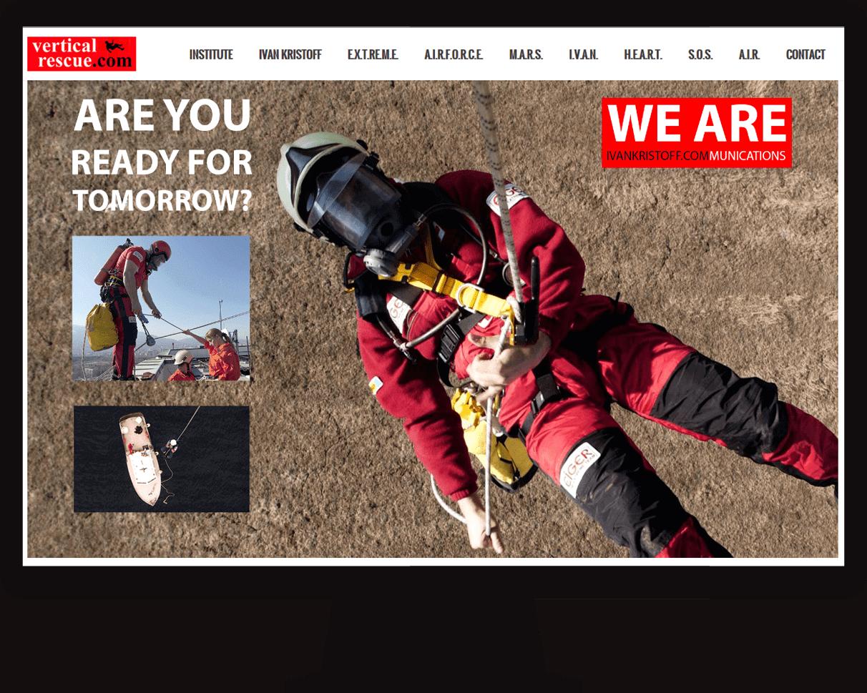 Web design for Rescue