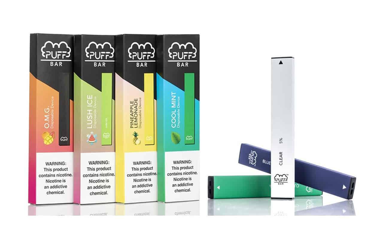 使い捨てべイプ(ディスポーザルべイプ)はニコチンリキットを入れたりカートリッジを装着する必要がなく蒸気を吸う事が出来る使い捨ての電子タバコです。