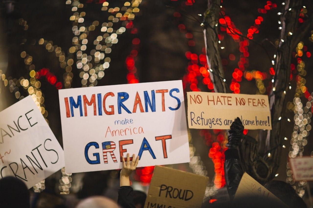 Immigrants make America great - Unsplash