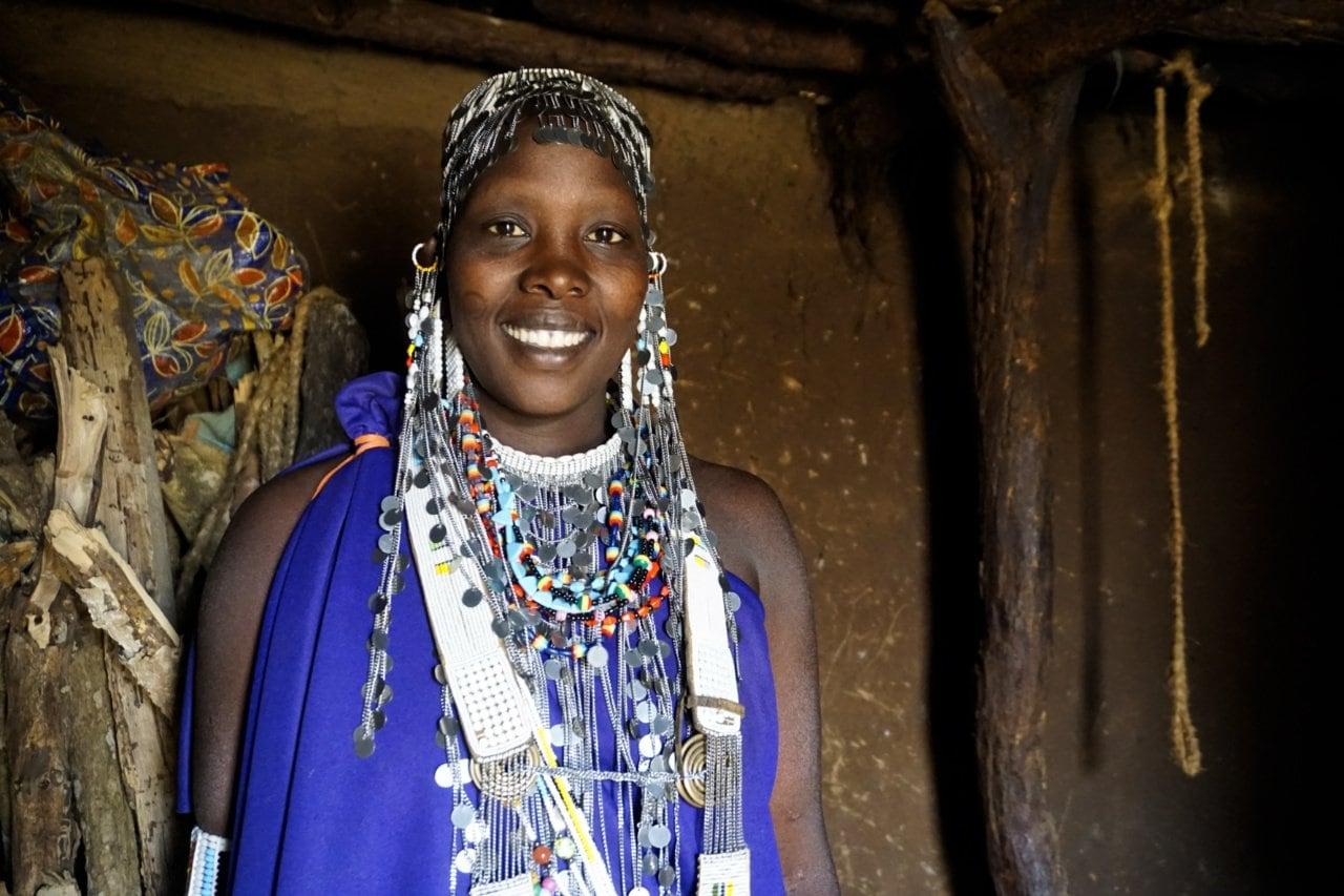 Masai woman's wedding jewelry, Tanzania - Experiencing The Globe