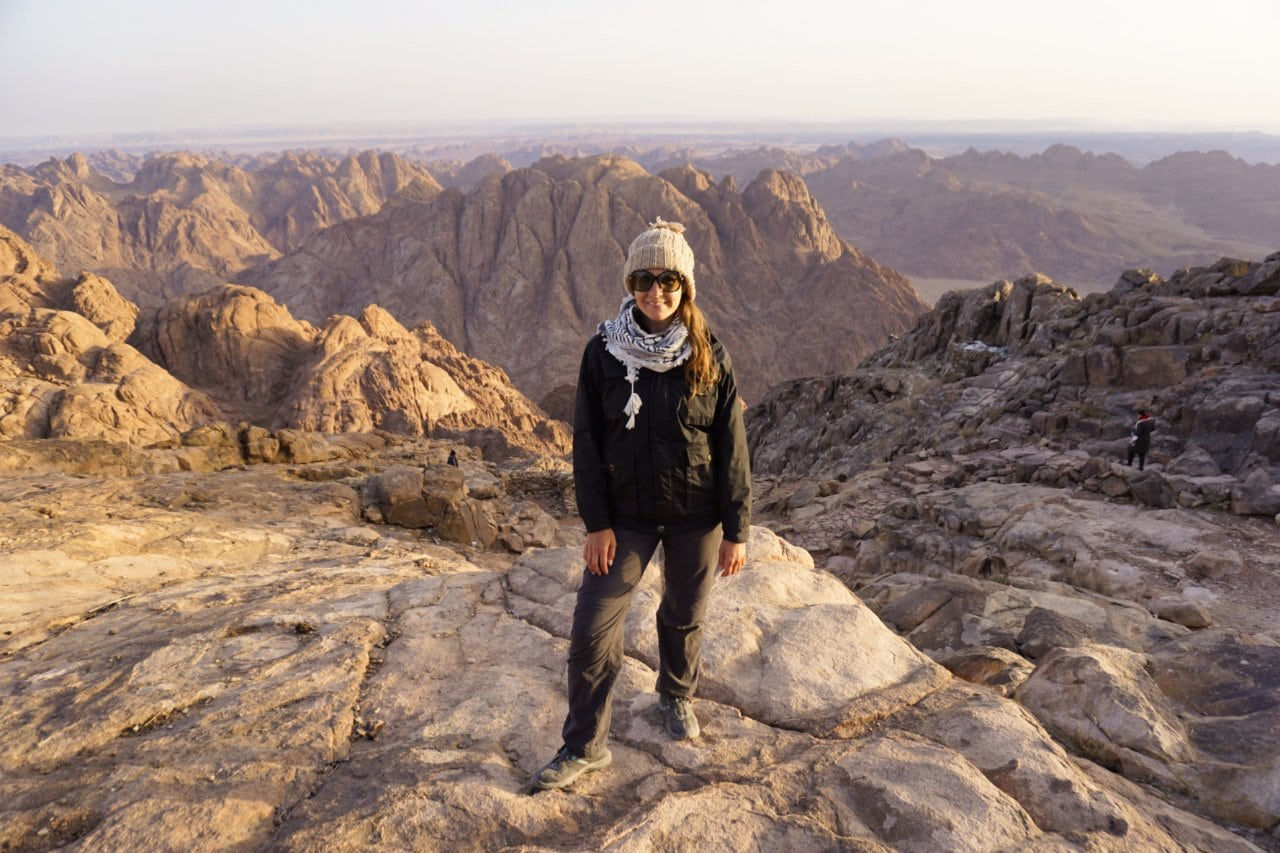 Summit of Mt. Sinai, Egypt - Experiencing the Globe