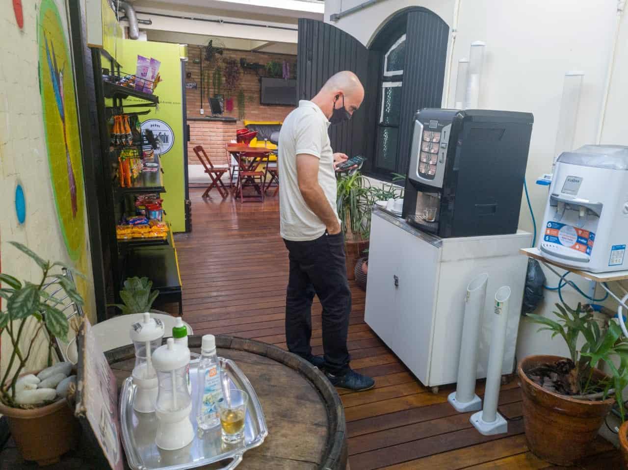 Smart Place Coworking Osasco Máquina de Café Expresso