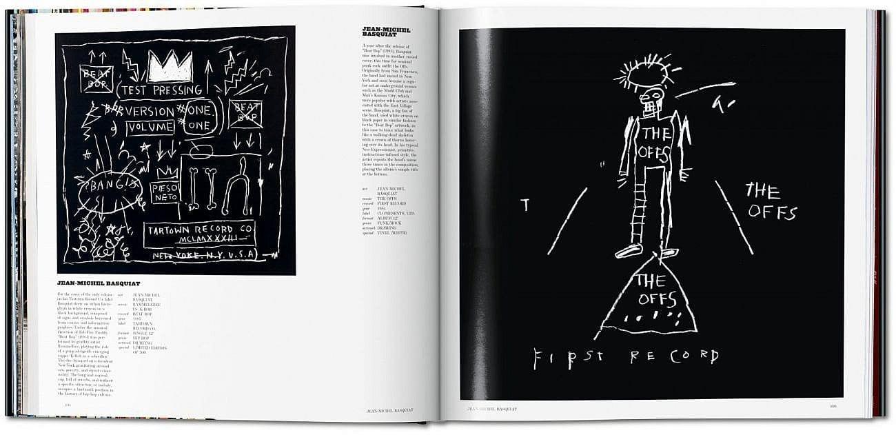 Art Record Covers Francesco Spampinato Hardcover, 29,3 x 29,3 cm, 448 Seiten € 49,99