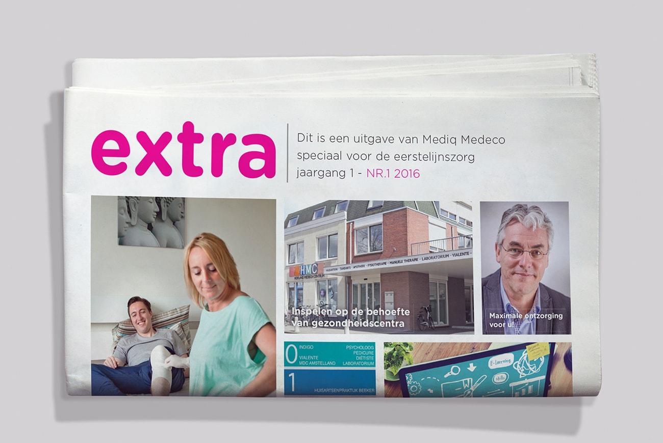 Mediq Medeco relatiemagazines Extra