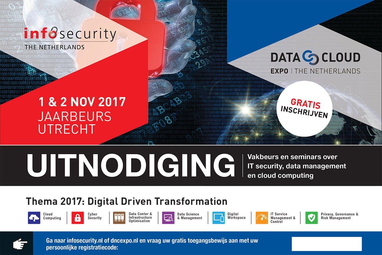 Jaarbeurs Infosecurity Data & Cloud relatiekaart