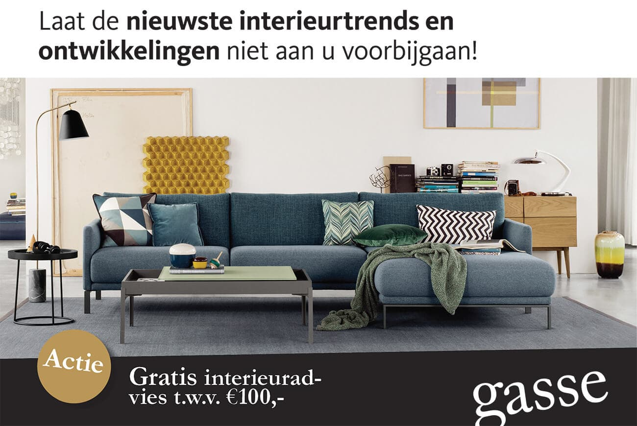Gasse Interieur & Advies Mijdrecht uitnodiging opening