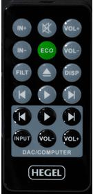 HD 25 télécommande
