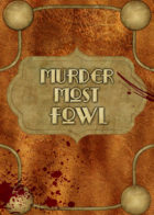 Murder Most Fowl card game title