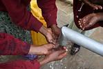 Pozzo di acqua potabile etiopia