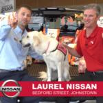Still from Laurel Auto Group Nissan Fill a Titan commercian