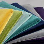 organic cotton colourfull fabric