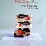 Oreo Strawberry Fudge Cake