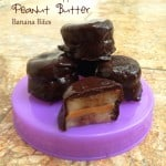 Chocolate Peanut Butter Banana Bites