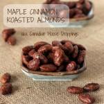 Maple Cinnamon Roasted Almonds