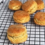 Easy Sourdough Biscuits