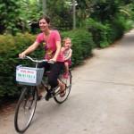Riding Bike in Hoi An
