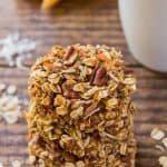 Carrot Oatmeal Cookie Stack