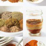 Seasoning Mix Recipe Collage