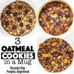 3 Mug Cookie Recipes