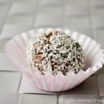 Tartufi avocado e cioccolato bimby
