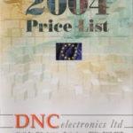 DNC Electronics Catalogue 2004_EUR