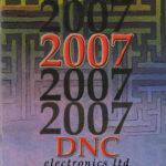 About DNC Electronics- Catalogue 2007