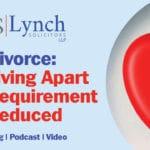 Divorce Living Apart Requirement