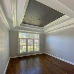 chevron plank ceiling